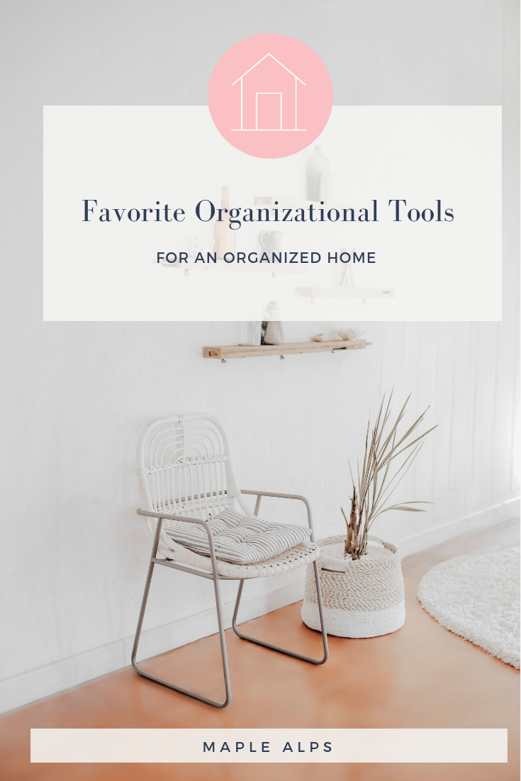 Some of My Favourite Organizational Products | www.maplealps.com
