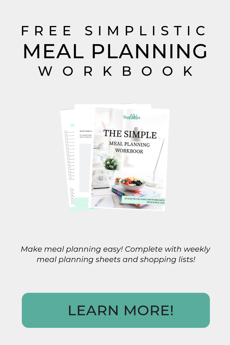 Meal Planner | Maple Alps
