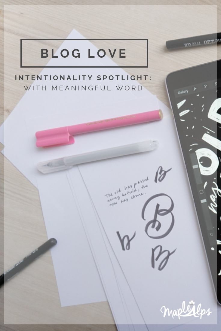Intentionality Spotlight: Naida of Meaningful Word | www.maplealps.com