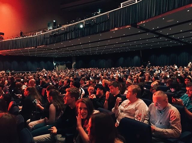 Amazing turnout at @tedx_official this weekend in Glasgow! Over 2000! Thanks to everyone for listening 🙌🏽