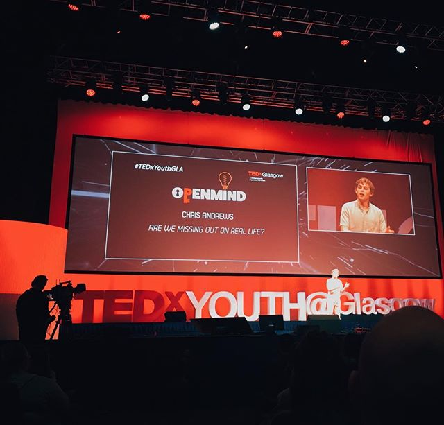 Tedx video is live!🎉 . A couple weeks ago I had an opportunity to speak at Tedx Glasgow. In 9 minutes I share the most important moment of my journey and explain how dealing with my own digital addiction changed my life forever. . I hope my words remind you of what matters to us. . Watch and share! Link in bio