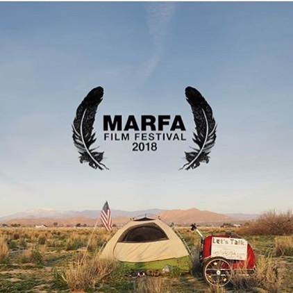 The Let's Talk Documentary is screening today @officialmarfafilmfestival !!! ✨ The master filmmaker behind it, @rachelkleinvisuals is there today! Thank you Rachel, for all your hard work! You're a rockstar! Everyone else, stay tuned for the online release of the short film!