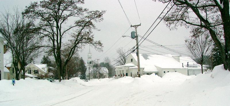 THE WINTER OF 2008, TAMWORTH VILLAGE