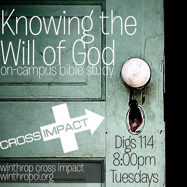 Join us tonight! #biblestudy #crossimpact