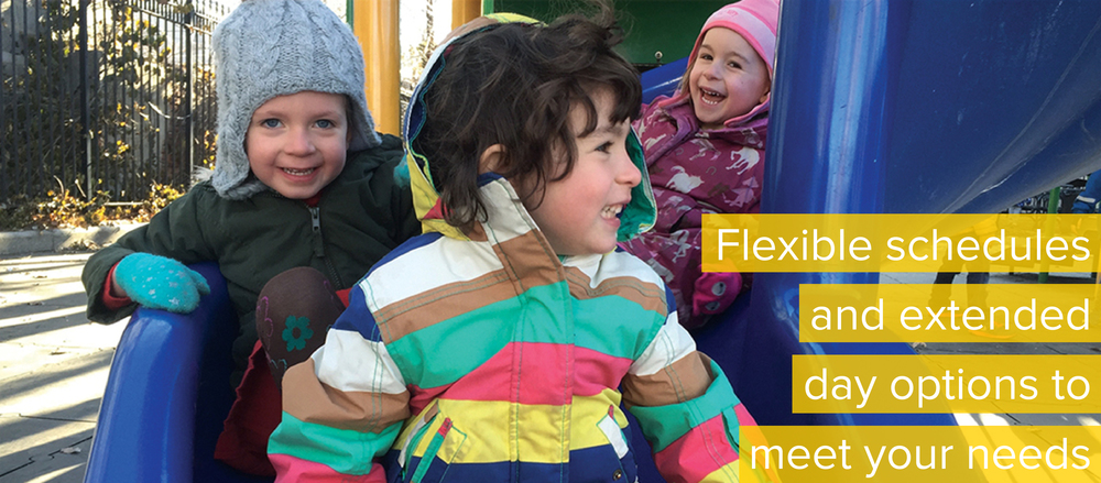Red Hook Playgroup: Flexible schedules and extended day options to meet your needs