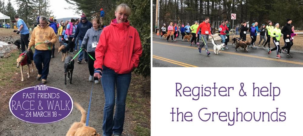 Register for the Race & Walk