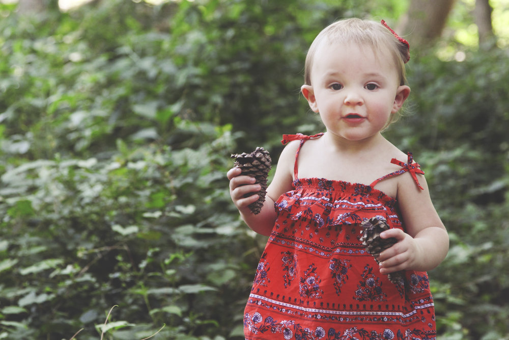 Red and Fawn Family Photography Flowery Branch