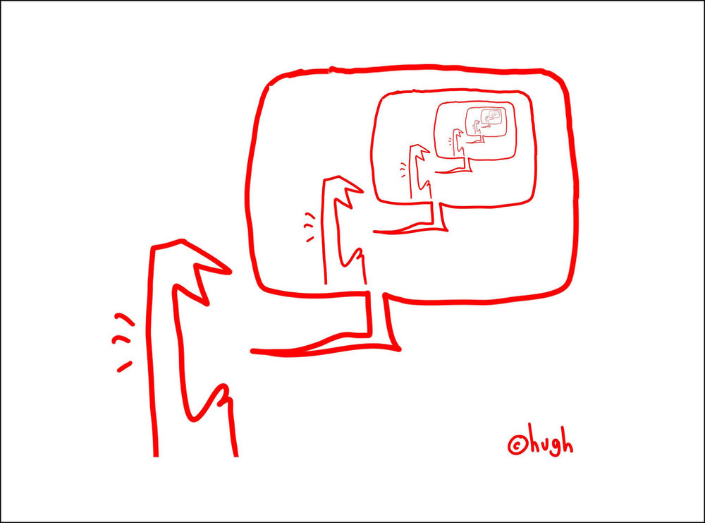 Echo Chamber Cartoon