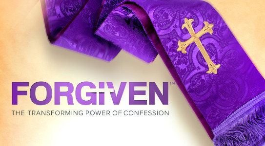 Forgiven: The Transforming Power of Confession, is the latest addition to the Augustine Institute's library of sacramental preparation programs. As a FORMED subscriber, you now have access to all 9 sessions of the Parish Edition in English, along with corresponding guidebooks for Sessions 1–5. Forgiven explores the grace and healing offered in Confession and shows how this sacrament of mercy reveals the depth and bounty of God's love. By looking at God's revelation of his mercy in Scripture and making a step-by-step examination of the Rite itself, Forgiven communicates God's invitation to each one of us to come experience his indescribable love in the Sacrament of Reconciliation. www.formed.org  Enter the Parish code: BBHZQV  (case sensitive)