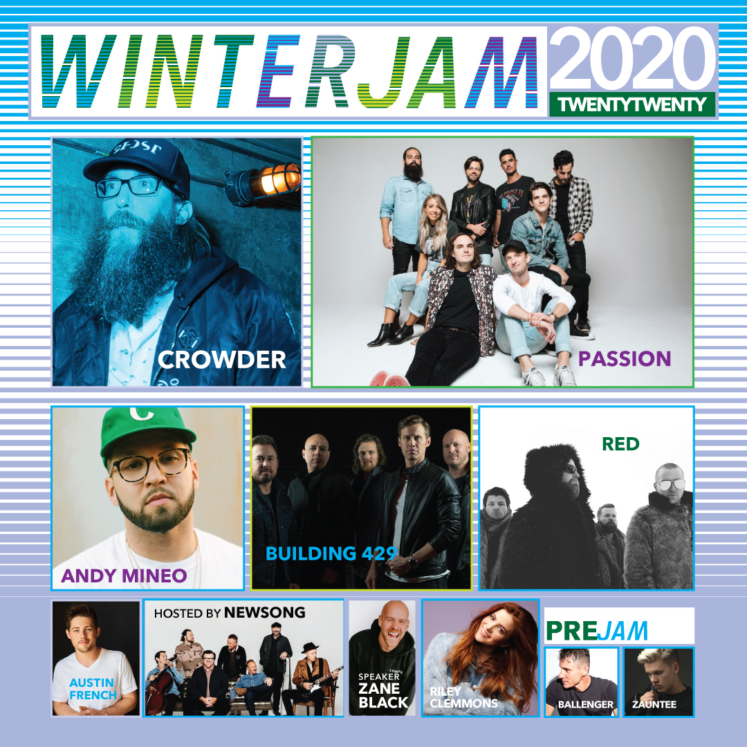 Winter Jam 2020 Santander Arena Performing Arts Center
