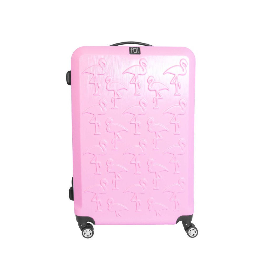 61242-Flamingo Series Pink - Large — ful-europe | Luggage ...