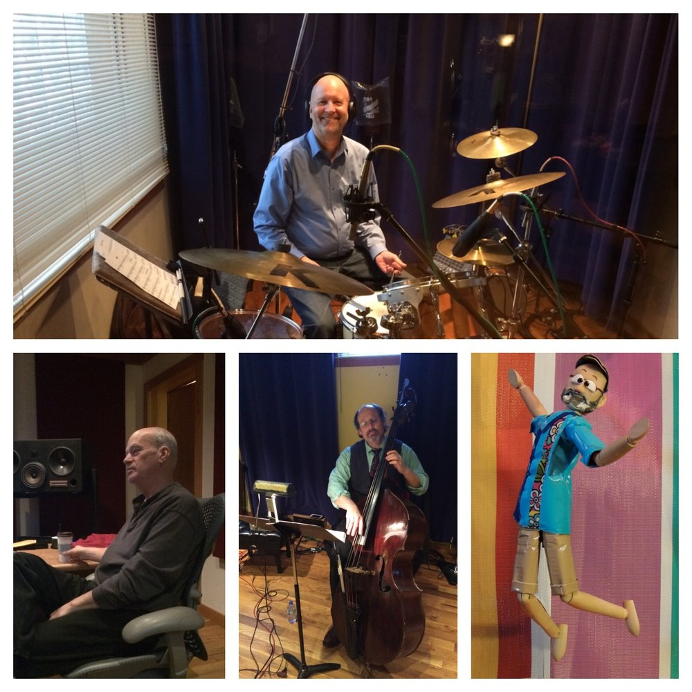 Top: Pete Johnson Bottom (from left to right): Joe Savage, Gary Raynor, and Richard Kriehn