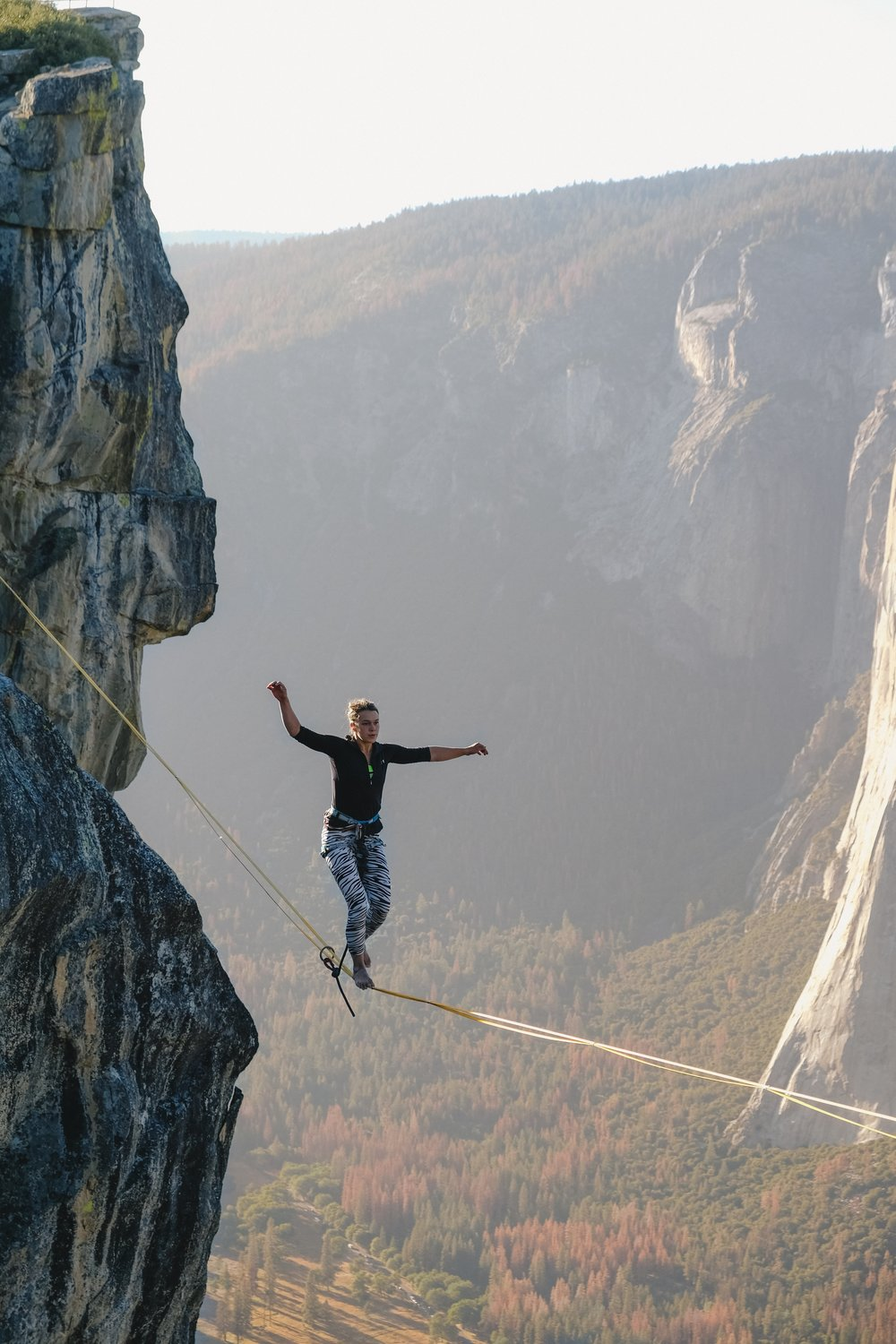 "Instead of walking the tightrope of ""being perfect"" try being self-compassionate instead"