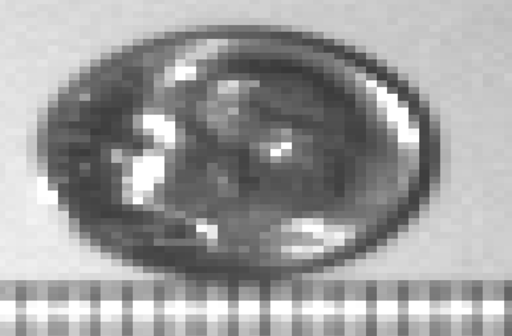 50 Pixel Dime