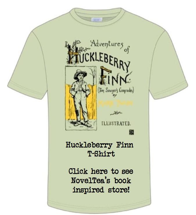 The Adventures of Huckleberry Finn, NovelTea Bookstore Cafe
