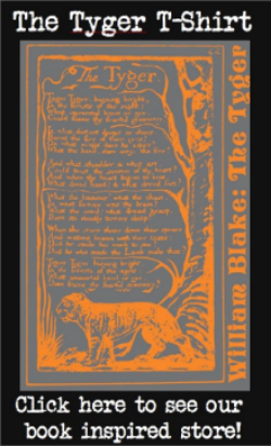 The Tyger, William Blake, NovelTea Bookstore Cafe
