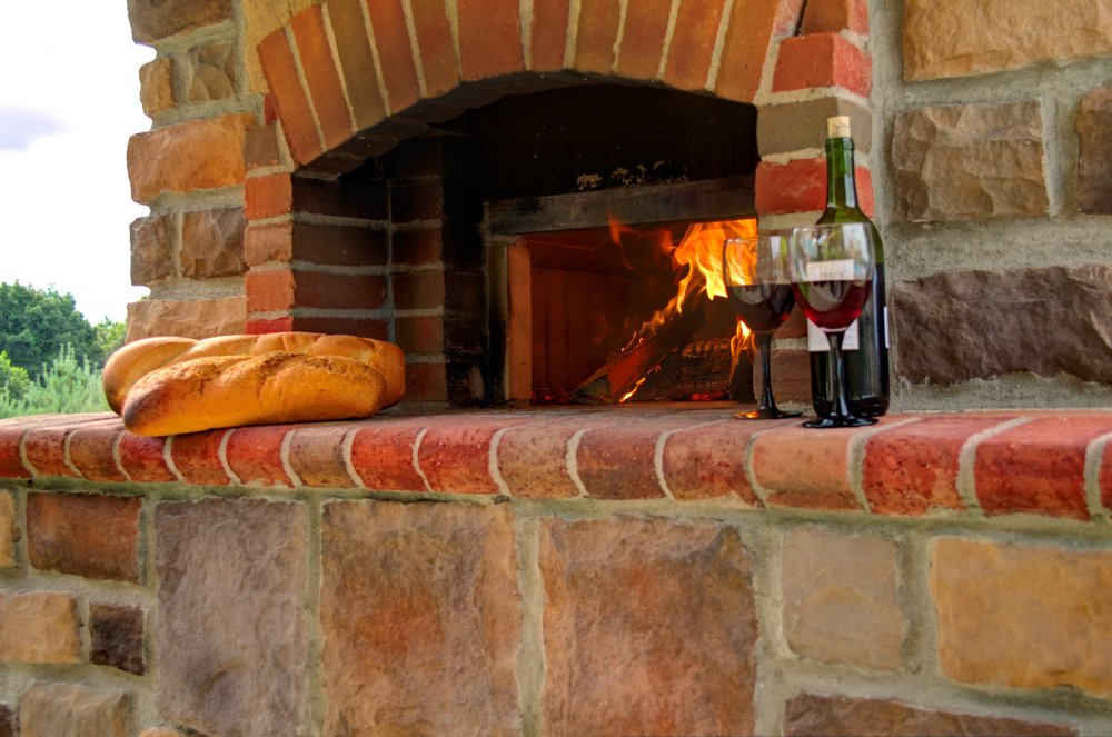 Anyone for brick oven pizza?