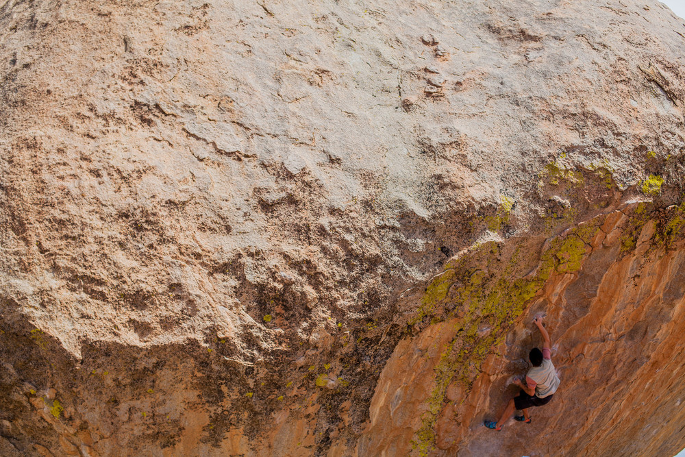 """My 5 month project, 'Evilution' V10"" Photo: Ian Kizanis"