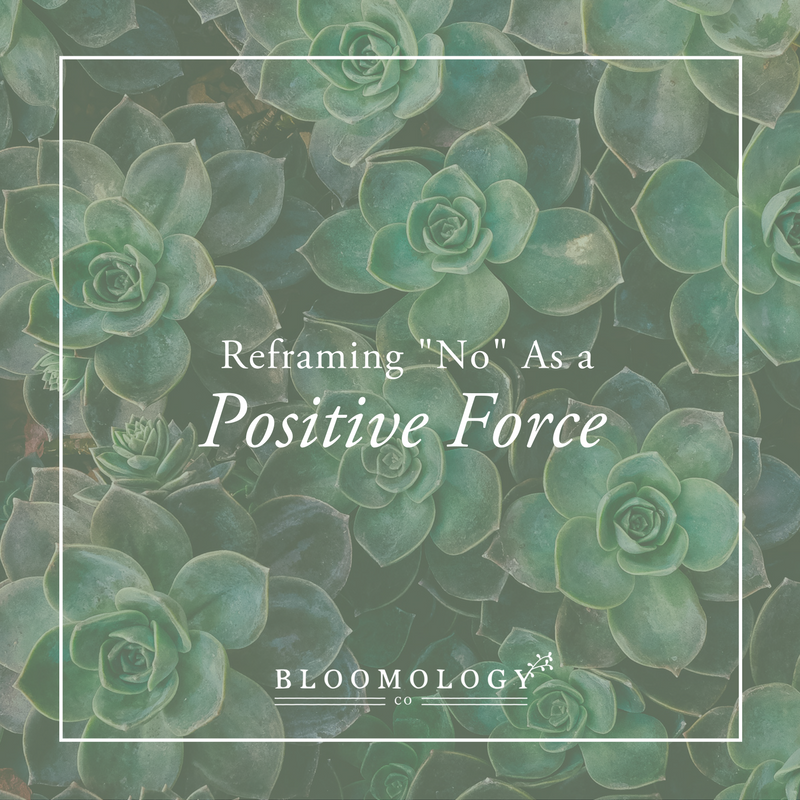 "Reframing ""No"" as a Positive Force 