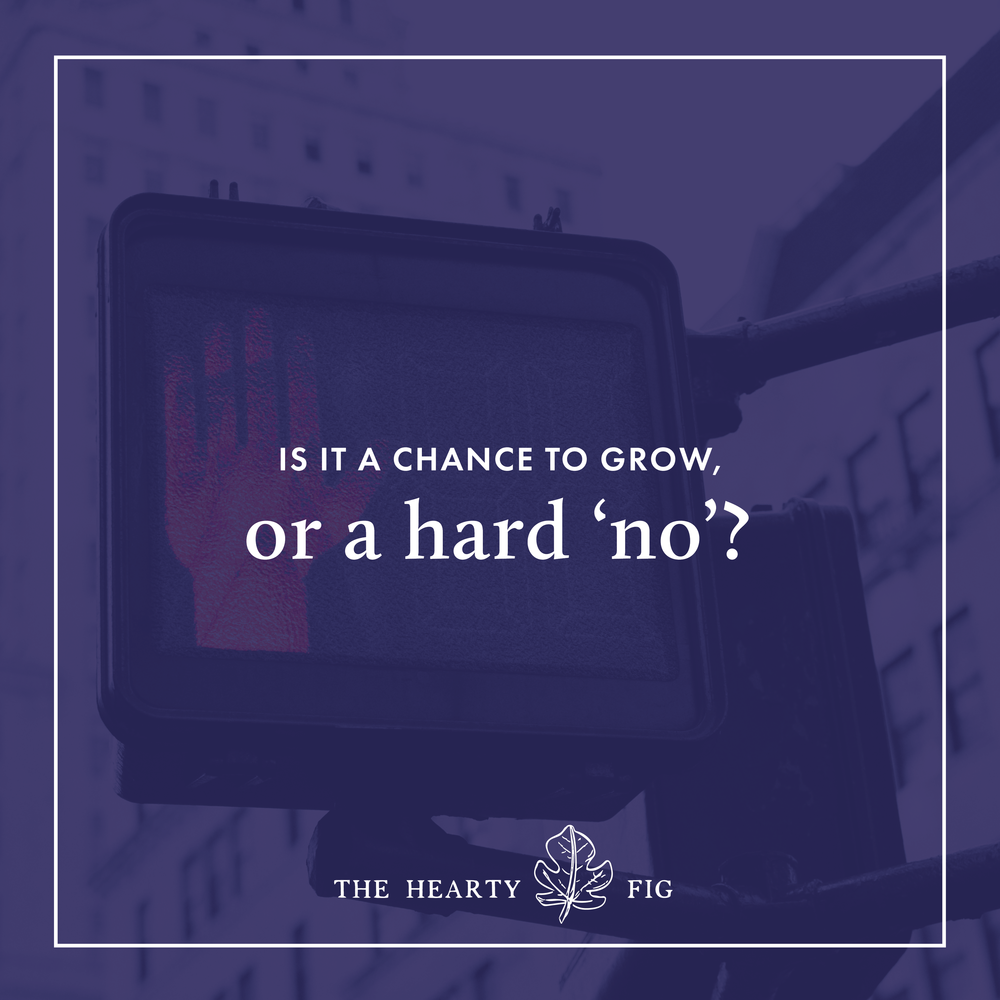 Knowing When to Push Your Boundaries, and When to Say No // The Hearty Fig