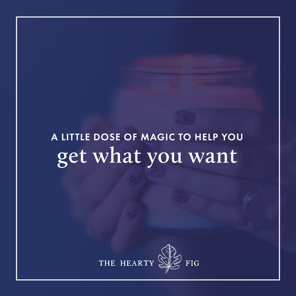 A Dose of Magic to Help You Get What You Want // www.theheartyfig.com