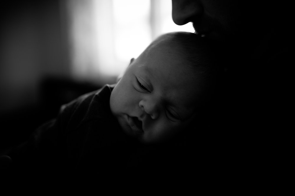 Lifestyle newborn session South Shore, MA
