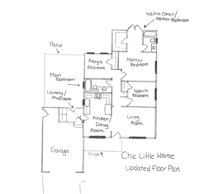 Our Home The Floor Plan Katrina Blair Interior Design Small Home Style Modern Livingkatrina Blair