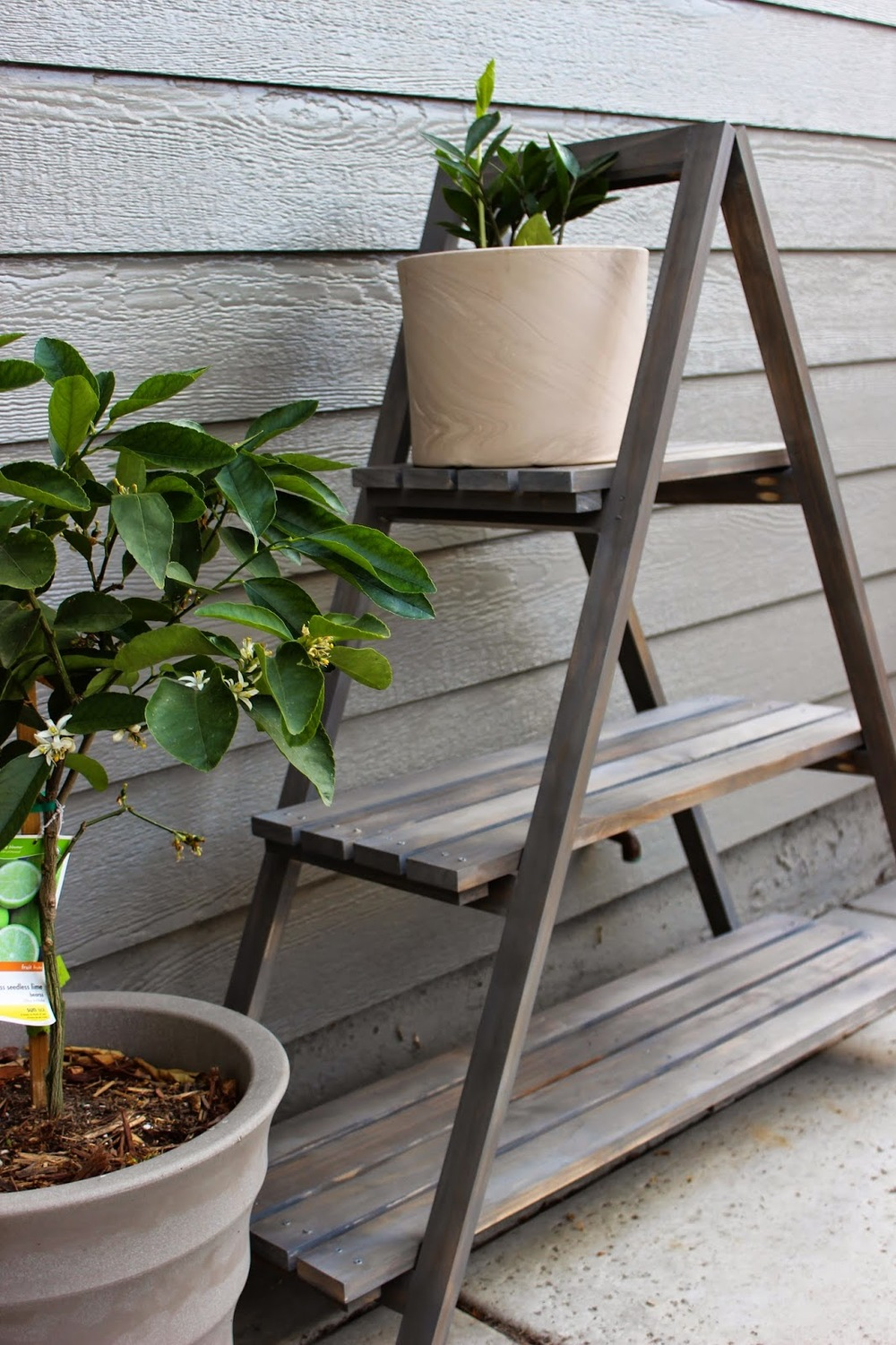 diy a frame plant stand