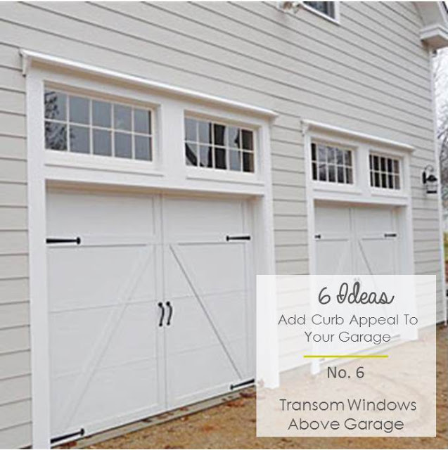 6 ideas to add curb appeal to garages katrina blair for Garage door curb appeal