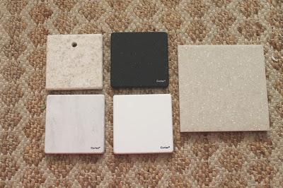 Counter Samples Katrina Blair Interior Design Small Home Style