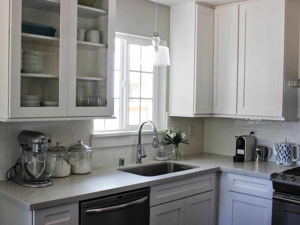DIY Roman Shade for My Kitchen — Katrina Blair   Interior Design