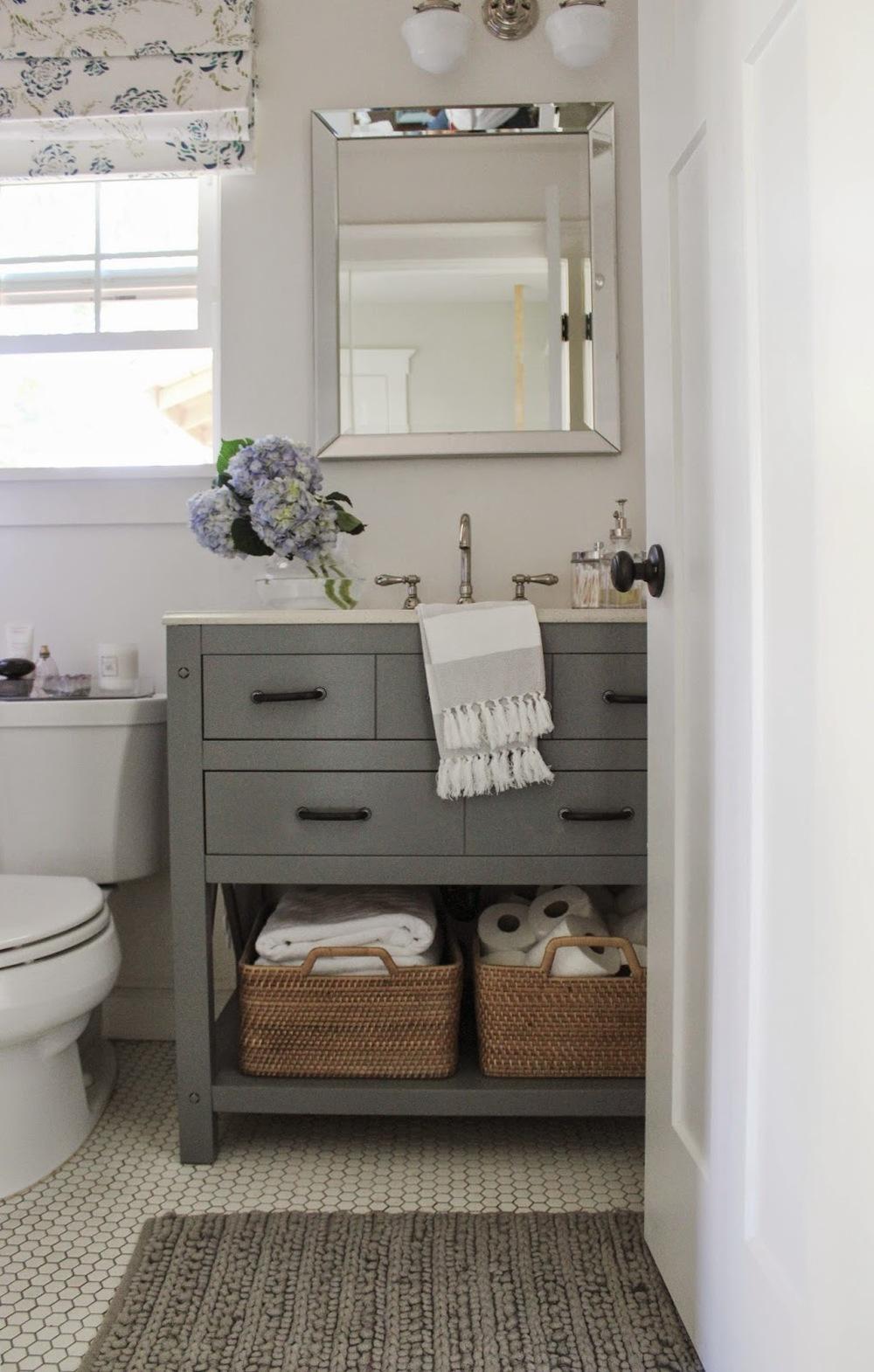 Our Bathroom Vanity Change Up Katrina Blair Interior Design