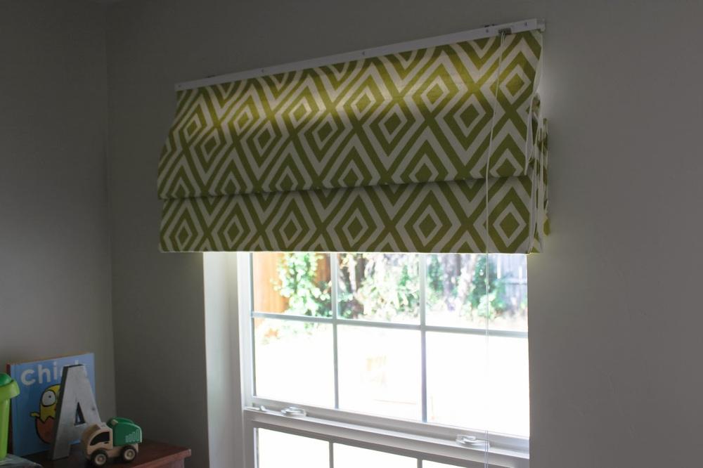 How to Make No Sew Roman Shades Interior Design Small Home