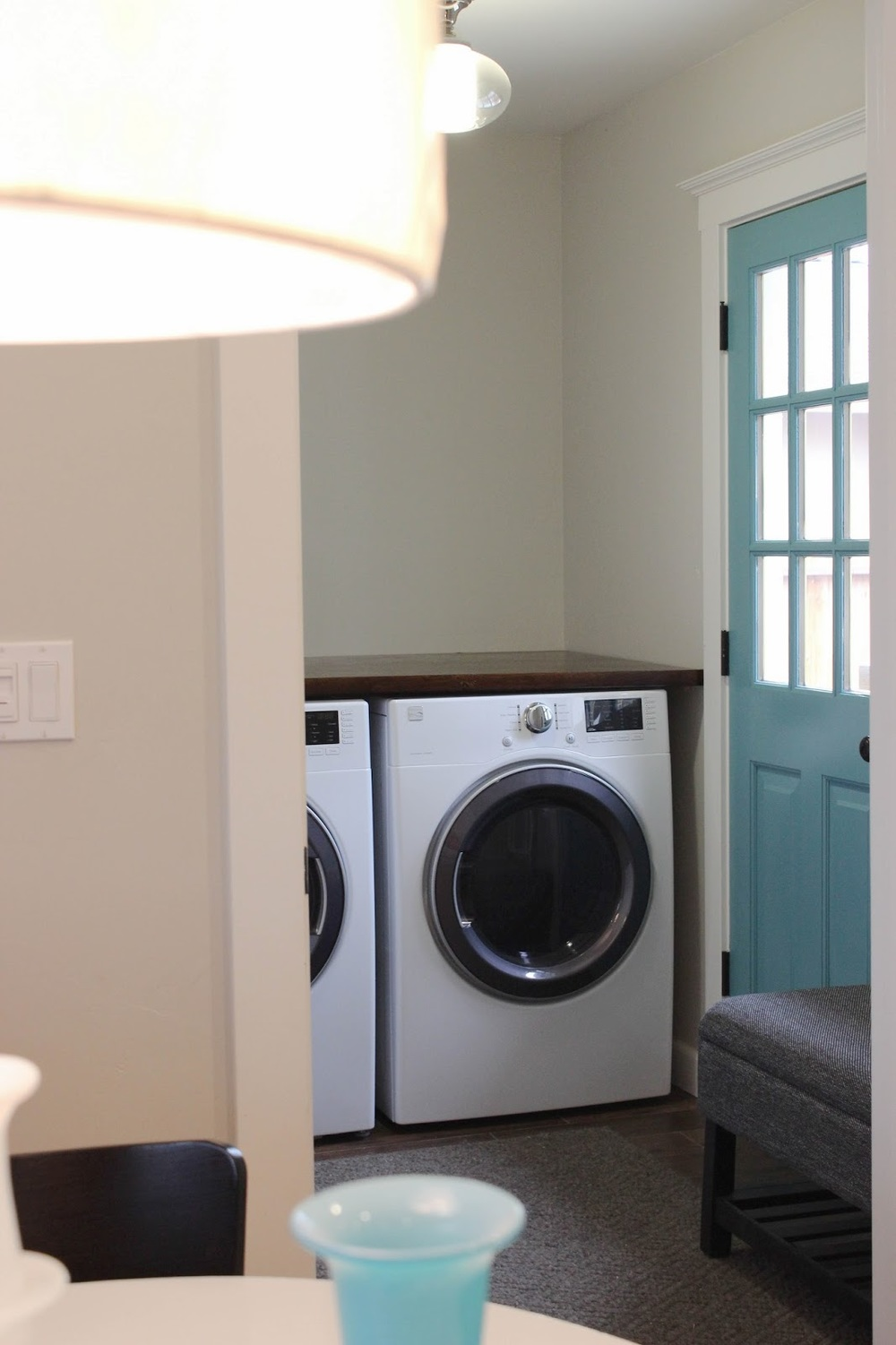 Countertop Options For Laundry Room : DIY Laundry Room Countertop ? Chic Little House