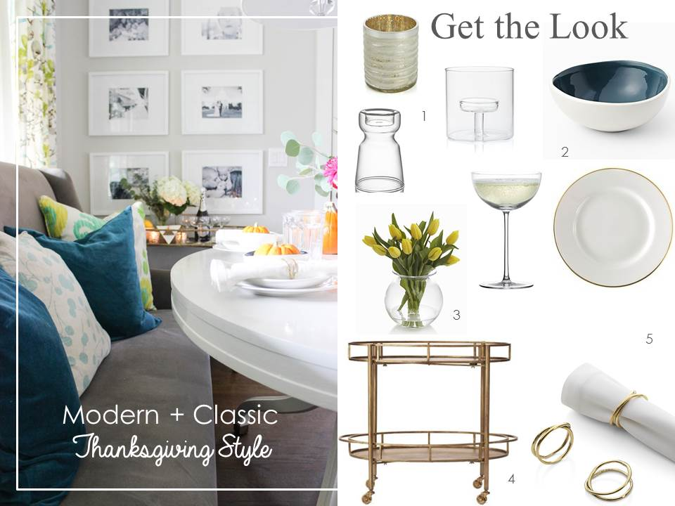 Modern + Classic Thanksgiving Style