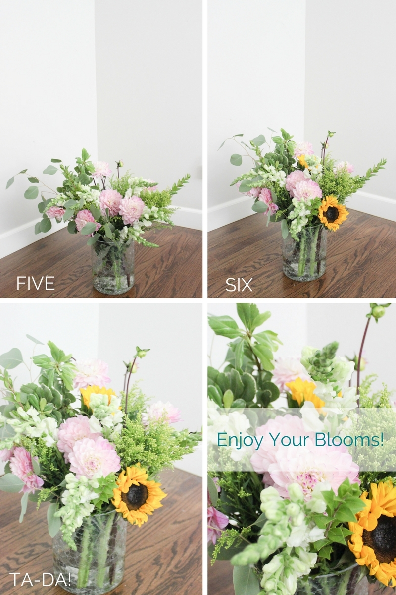 How To Effortlessly Give Grocery Store Flowers A High End Look