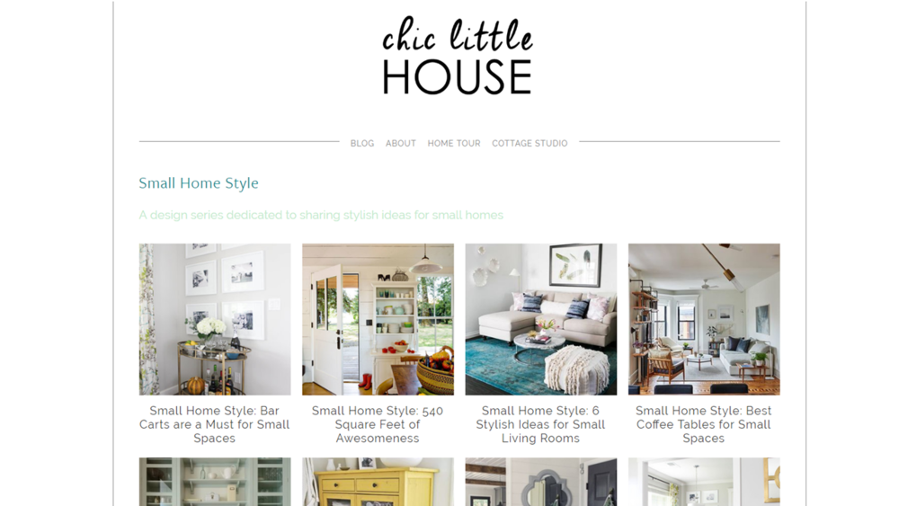 CLH Small Home Style Page
