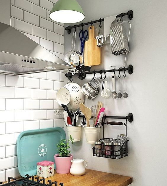 Galley Kitchen Sink Part - 45: A Lot Of Interior Galley Kitchens Lack Windows, Leaving A Black Space About  The Kitchen Sink. Consider Adding A Shelf With Brackets To Go Above Your  Kitchen ...
