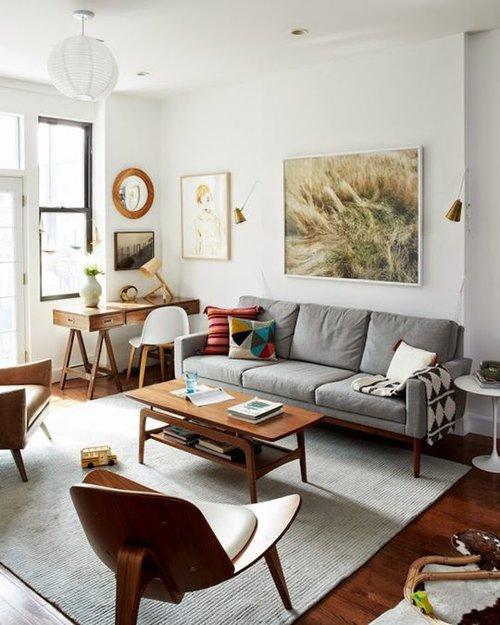 Small Home Style: Living Room Lighting Solution Sconces — Katrina ...
