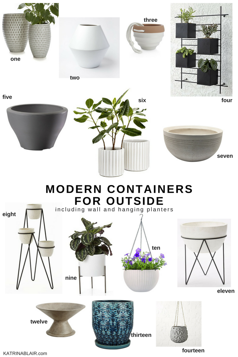 Modern Containers for Outside, Wall Planters and Hanging Planters.png