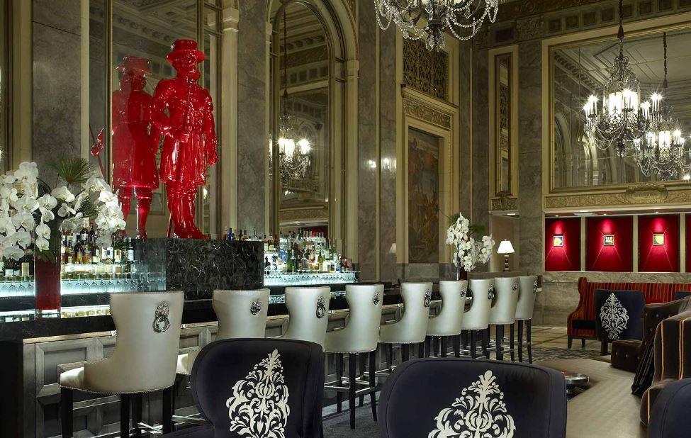 image via Sir Francis Drake Hotel