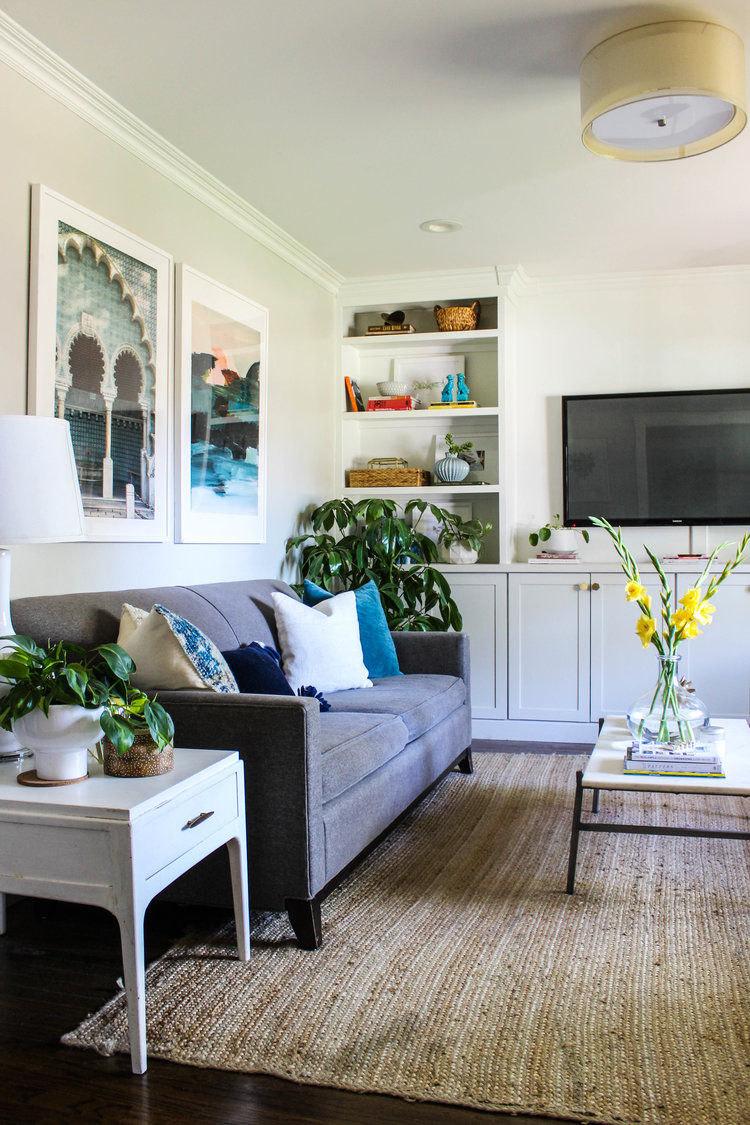 Living Room Update | Modern Lighting — Katrina Blair ...