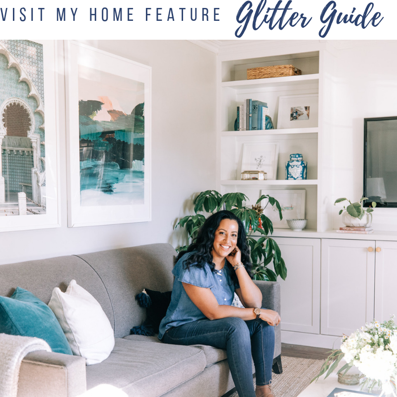 Katrina Blair Glitter Guide Home Tour and Interior Design Interview
