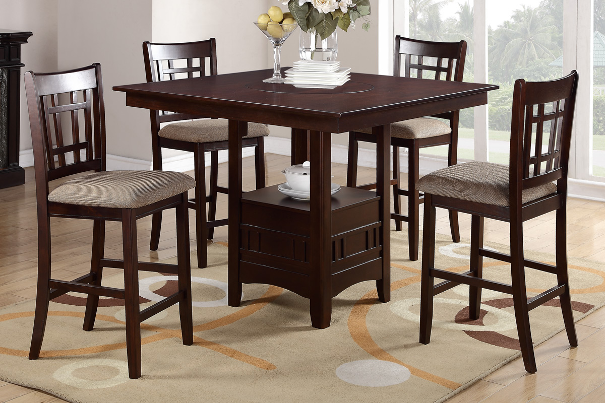 Bon Debbie Cherry 5 Piece Dining Set