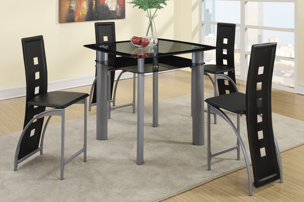 Jefferson 5 PC Dining Set. Small Dining · Modern Dining · Blingy Dining · Contemporary  Dining · Counter Height ...