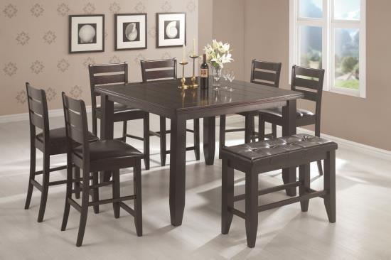Cloud 5 Pc Counter Height Dining Set Coco Furniture Gallery