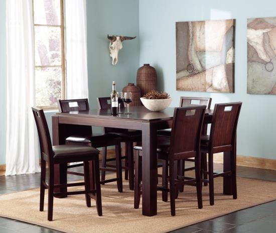 Prewit 5 Pc Counter Height Dining Set Coco Furniture Gallery