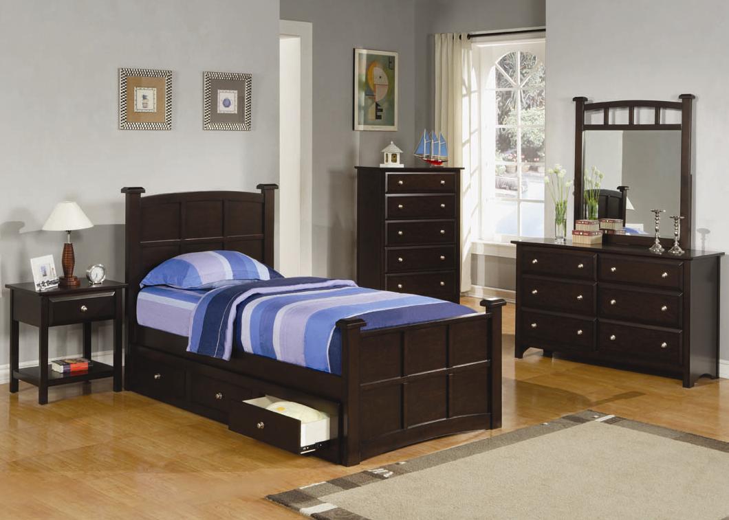 Adam Espresso Bed - Full Size Available! — Coco Furniture Gallery ...