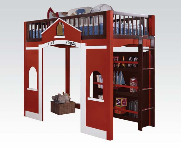 Firehouse Loft Bunk Bed Coco Furniture Gallery Furnishing Dreams