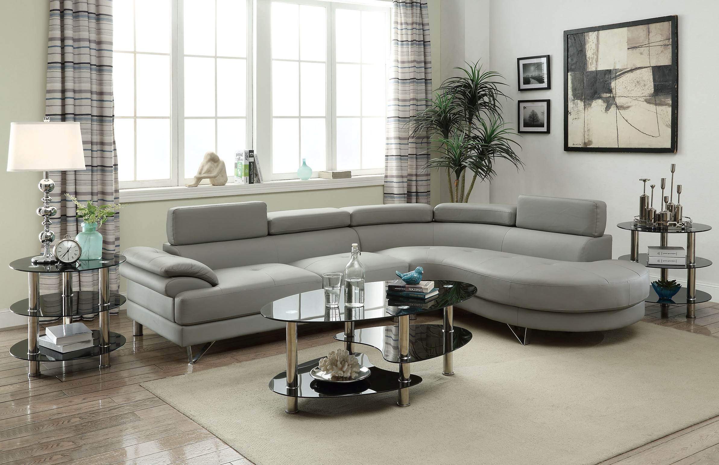 Melissa Grey Sectional